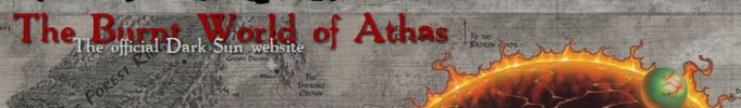 Burnt World Of Athas